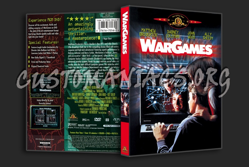 WarGames dvd cover