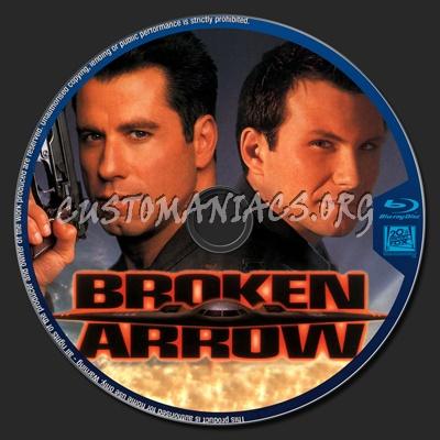 Broken Arrow blu-ray label