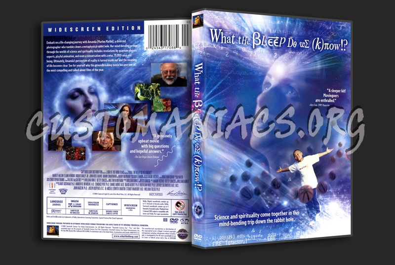 What The Bleep do We Know dvd cover