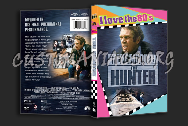 The Hunter dvd cover