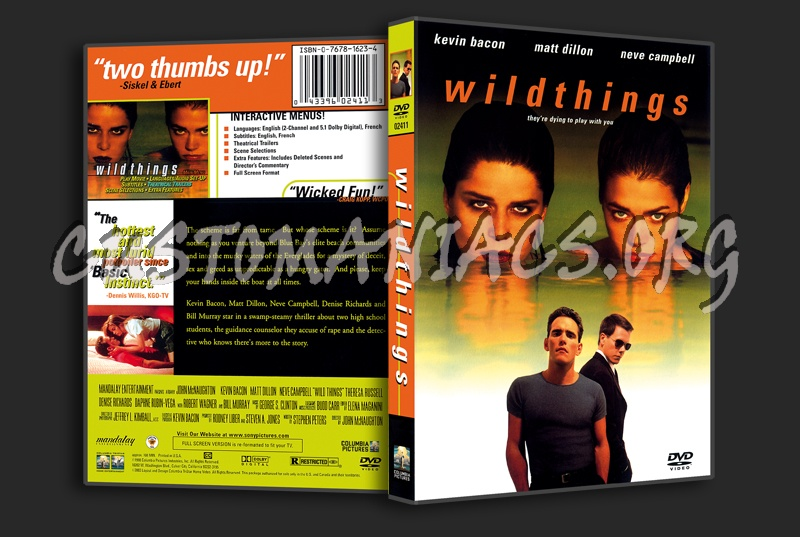 Wild Things dvd cover