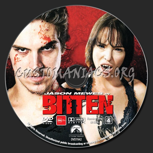 Bitten dvd label