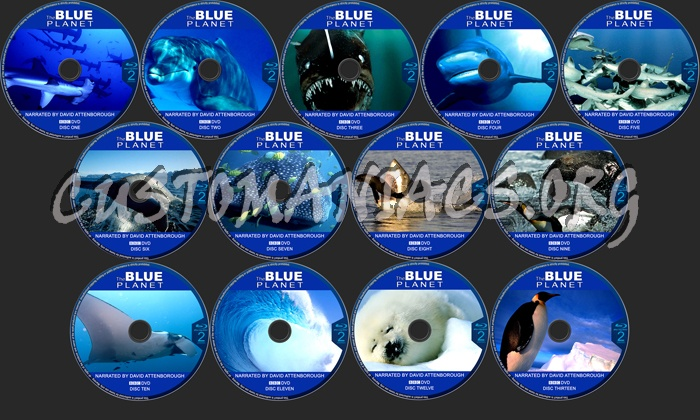The Blue Planet blu-ray label