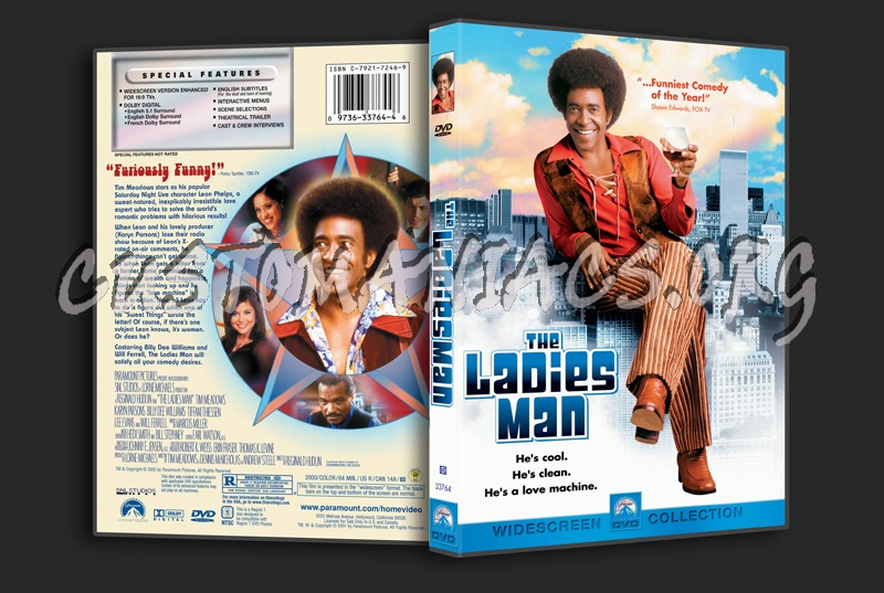 The Ladies Man (2000) dvd cover