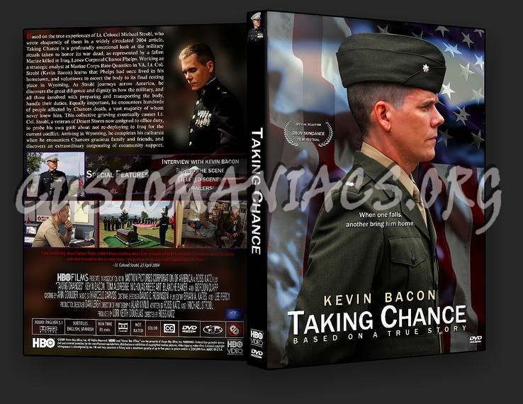Taking Chance dvd cover