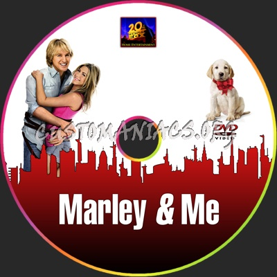 marley and me dvd. Marley amp; Me dvd label