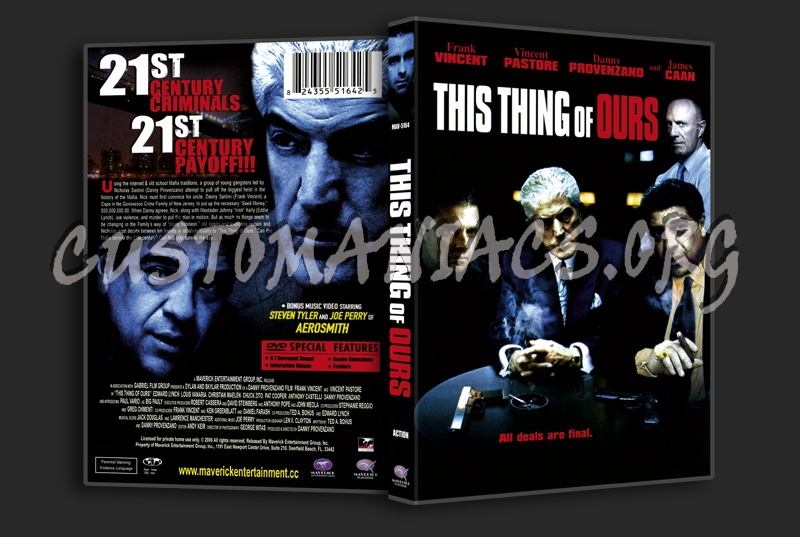 This Thing Of Ours dvd cover