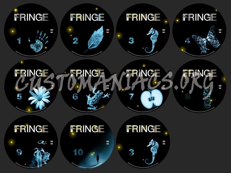Fringe dvd label