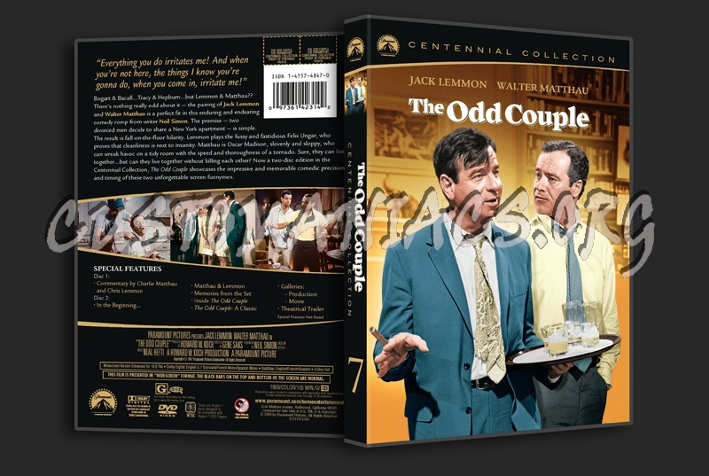 The Odd Couple dvd cover