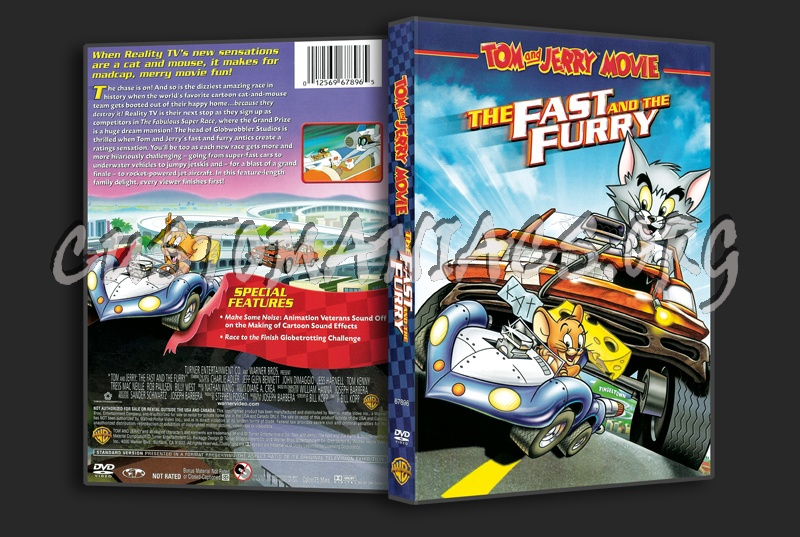 Tom & Jerry  The Fast And The Furry dvd cover