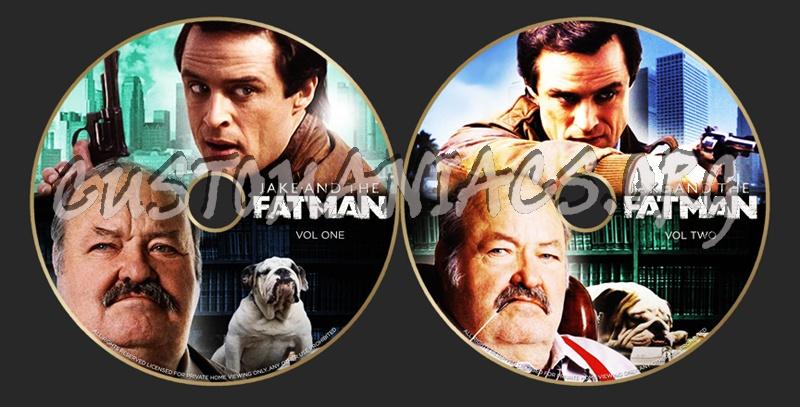 Jake & The Fatman dvd label