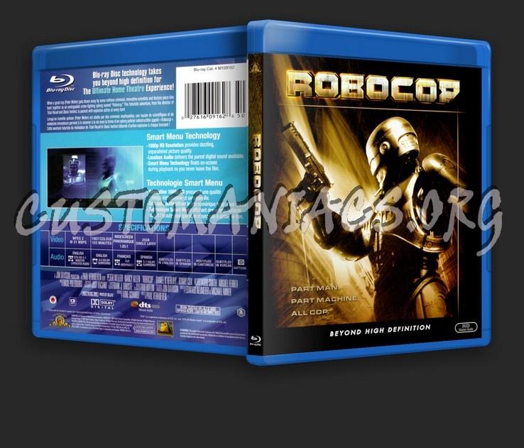 Robocop blu-ray cover