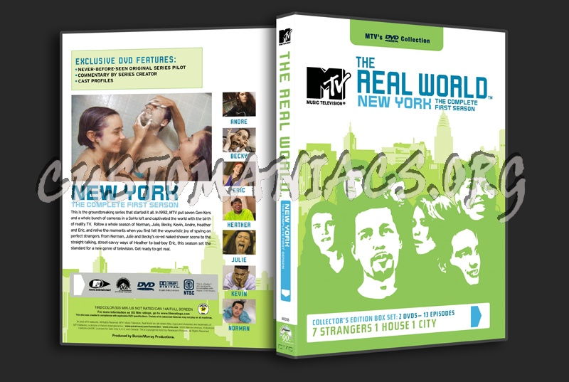 The Real World New York The Complete First Season Dvd Cover Dvd