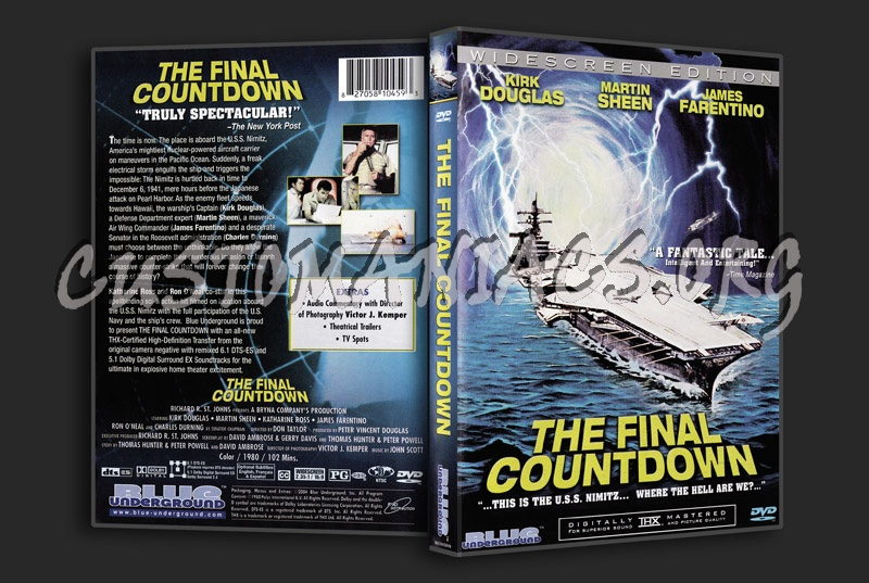 The Final Countdown dvd cover