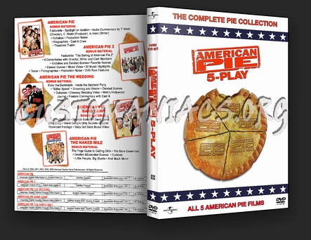 American Pie Collection dvd cover