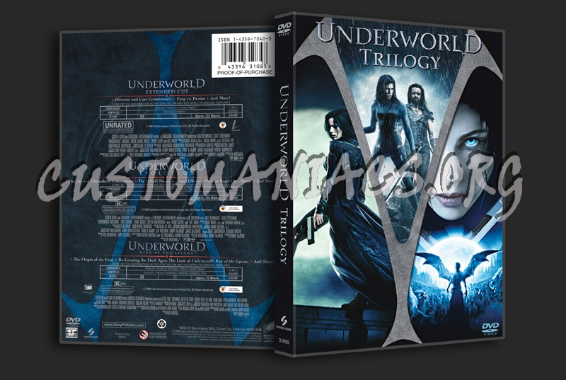 Underworld Trilogy dvd cover