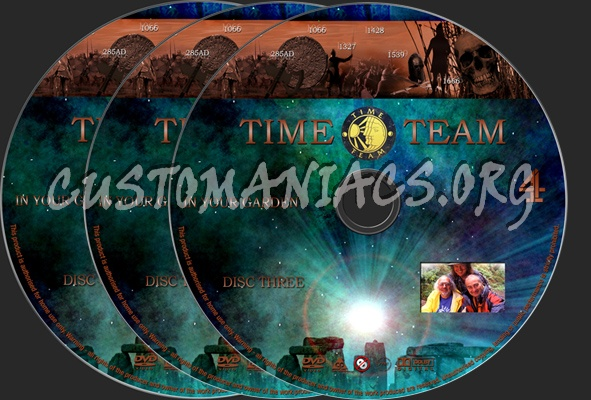 Time Team In Your Garden dvd label