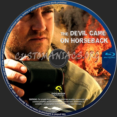 The Devil Came on Horseback blu-ray label