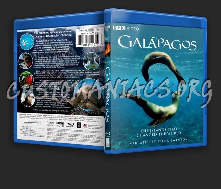 Galapagos blu-ray cover