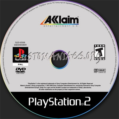 Ps2 Dvd Label Dvd Covers Labels By Customaniacs Id 7215 Free