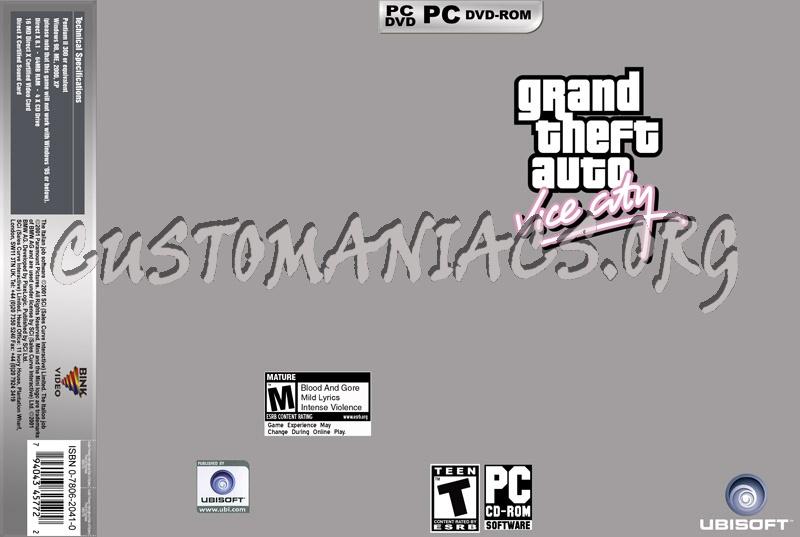 Pc Game dvd label