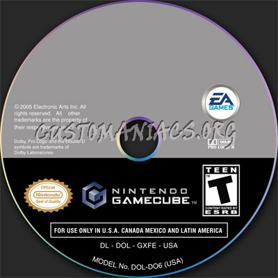 Gamecube Disc Template Dvd Label - Dvd Covers & Labels By