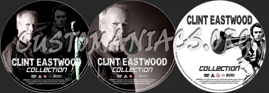 Clint Eastwood Collection dvd label
