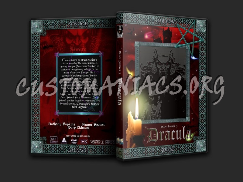 Bram Stoker\'s Dracula dvd cover