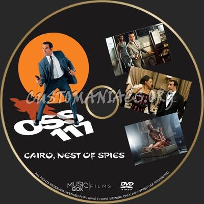 OSS 117: Cairo, Nest of Spies dvd label