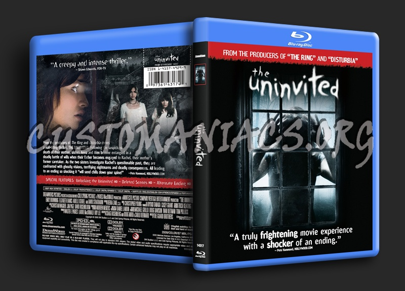 The Uninvited blu-ray cover