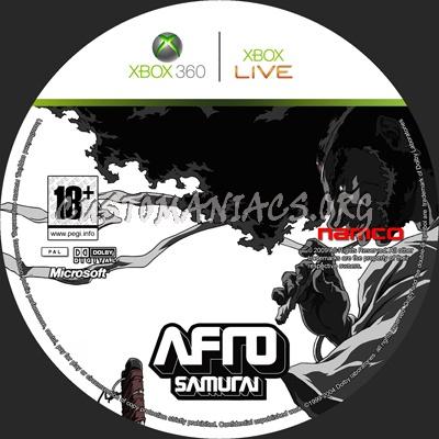 Afro Samurai dvd label