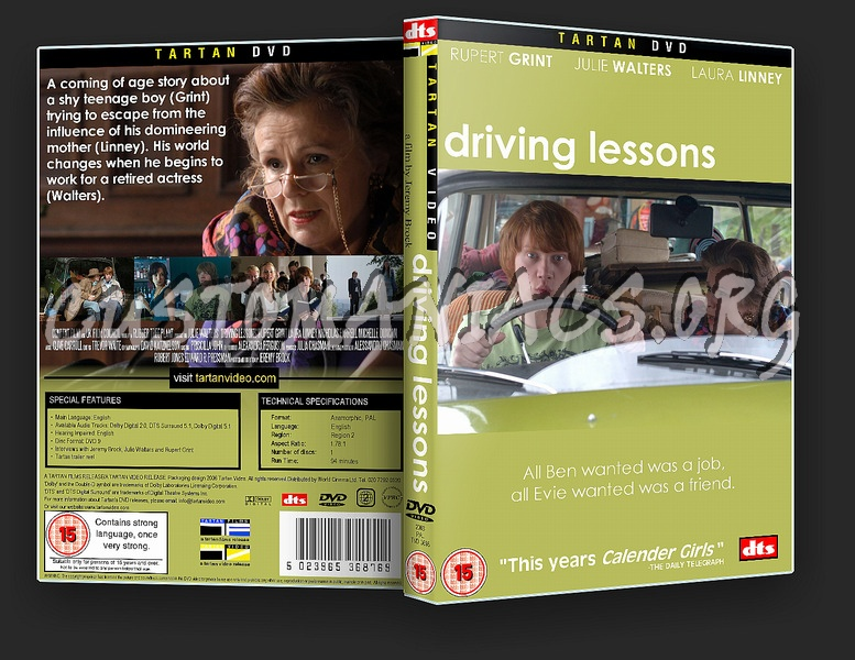 Driving Lessons dvd cover