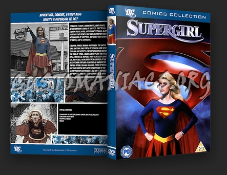 Supergirl dvd cover