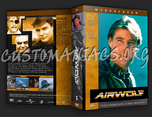 Airwolf dvd cover