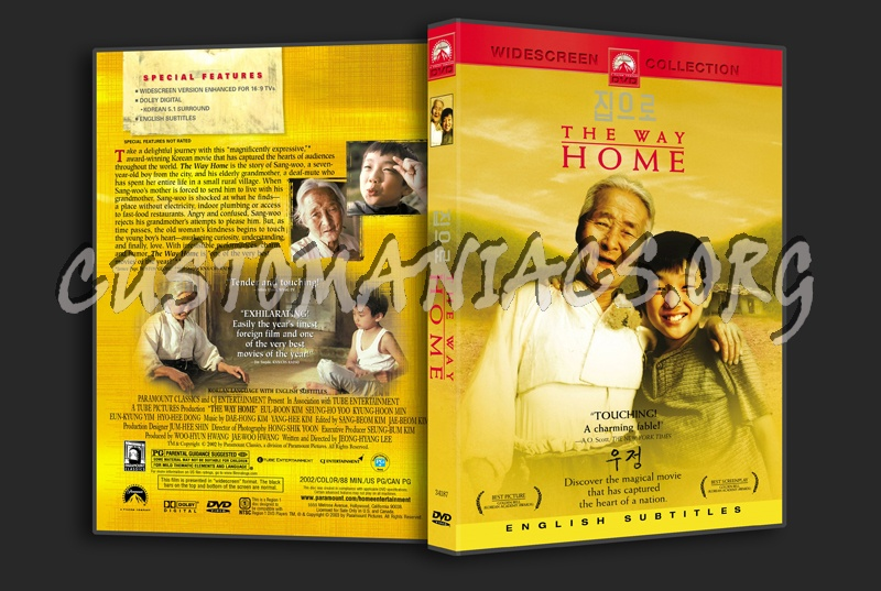 The Way Home dvd cover