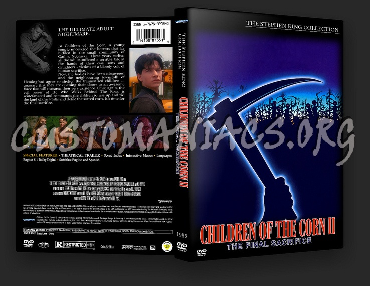 Children Of The Corn 2 dvd cover