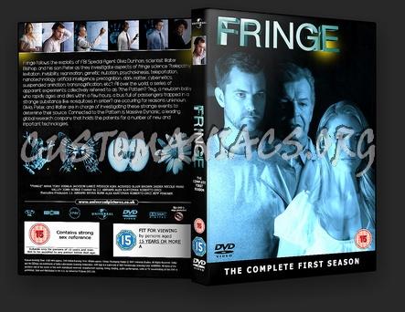 Fringe Season 1 dvd cover