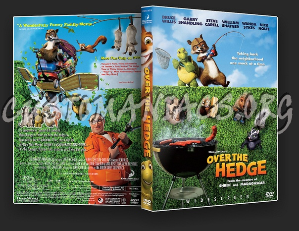 Over The Hedge dvd cover