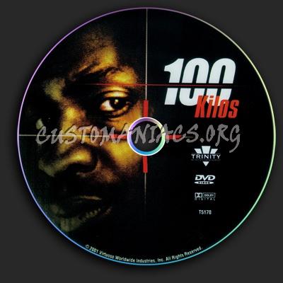 100 Kilo's dvd label