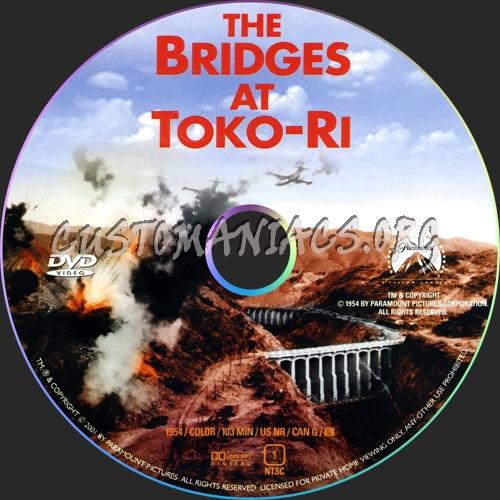 The Bridges at Toko-Ri dvd label