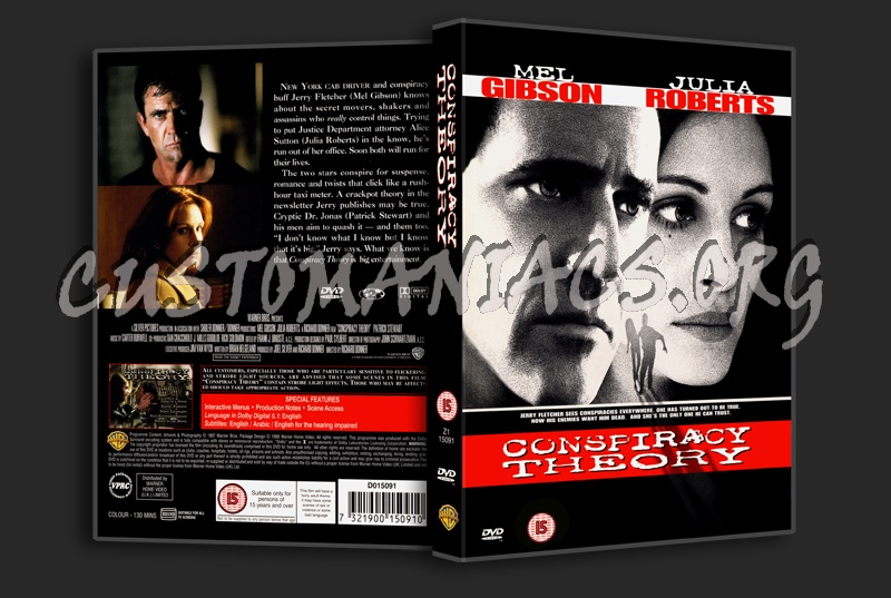 Conspiracy Theory dvd cover
