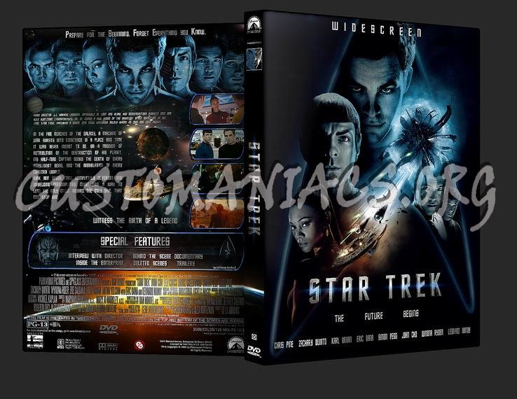 Star Trek dvd cover