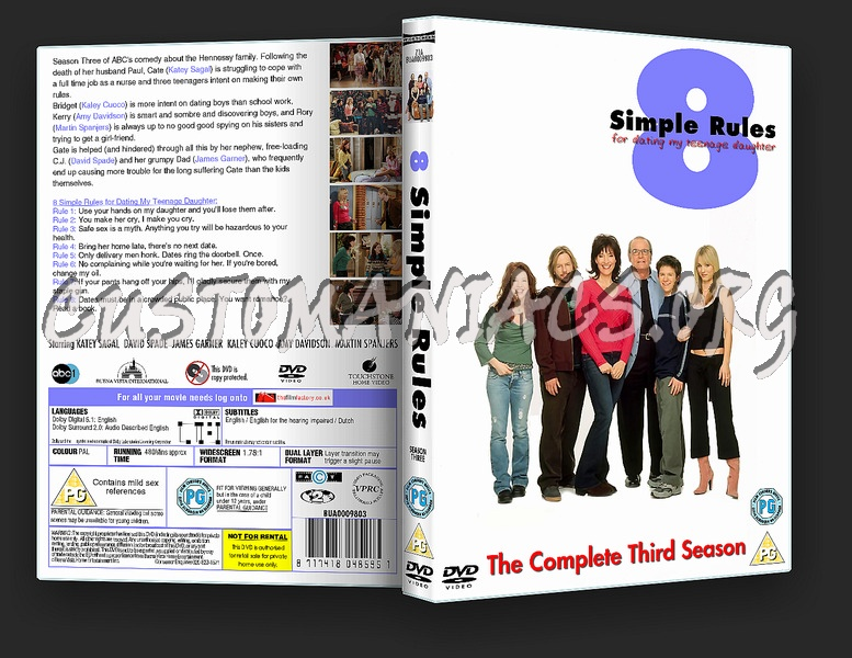 8 Simple Rules dvd cover