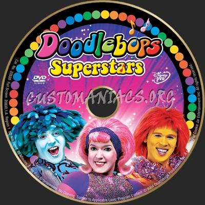 Doodlebops-Superstars dvd label