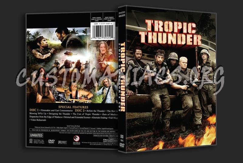 Tropic Thunder dvd cover