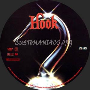 Hook dvd label