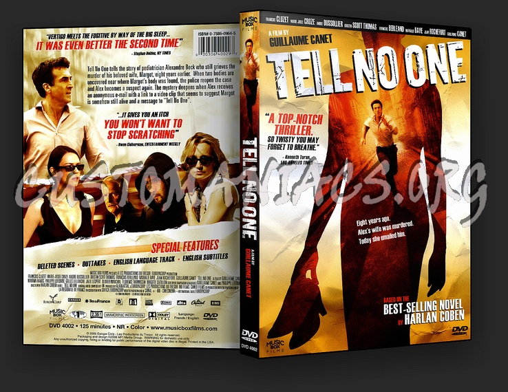 Tell No One dvd cover