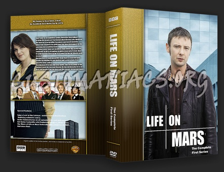 Life on Mars dvd cover