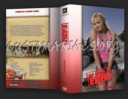 My Name is Earl dvd cover