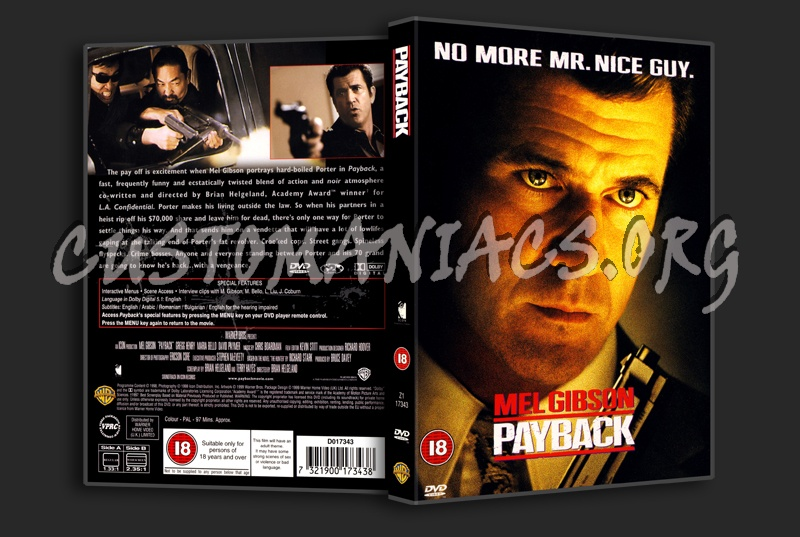 Payback dvd cover
